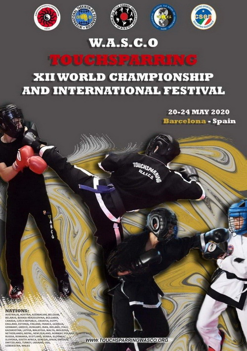 W.A.S.C.O. WORLD CHAMPIONSHIPS  20-24 May 2020 –BARCELONA-SPAIN